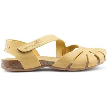 Schuhe Damen Sandalen / Sandaletten Interbios SANDALEN UNIVERSUM YELLOW