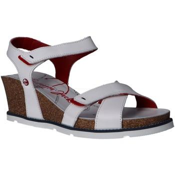Schuhe Damen Sandalen / Sandaletten Panama Jack Vieri Navy B3 Blanco