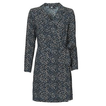 Kleidung Damen Kurze Kleider Le Temps des Cerises LEANE Blau