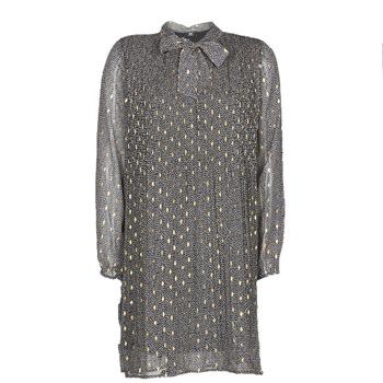 Kleidung Damen Kurze Kleider Le Temps des Cerises CHANI Grau