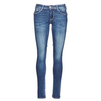 Kleidung Damen Slim Fit Jeans Le Temps des Cerises PULP Blau