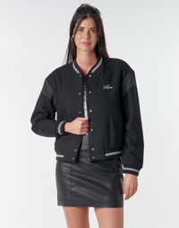Kleidung Damen Jacken Volcom TINYTED BOMBER Schwarz
