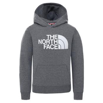 Kleidung Kinder Sweatshirts The North Face DREW PEAK HOODIE Grau