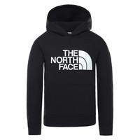 Kleidung Kinder Sweatshirts The North Face DREW PEAK HOODIE Schwarz