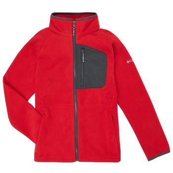 Kleidung Jungen Fleecepullover Columbia FAST TREK Rot