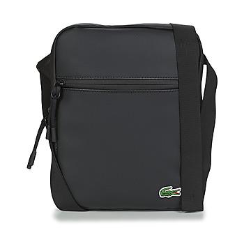 Taschen Herren Geldtasche / Handtasche Lacoste LCST MEDIUM Schwarz