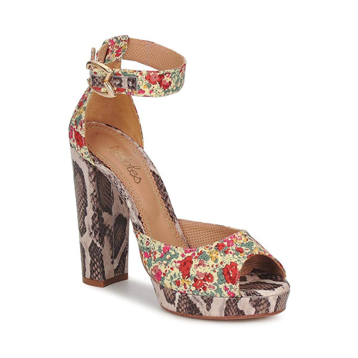 Maloles PIRIPI Multicolor - Kostenloser Versand bei Spartoode ! - Schuhe Sandalen / Sandaletten Damen 134,50 €