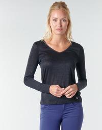 Kleidung Damen Langarmshirts Les Petites Bombes ADRIANA Schwarz
