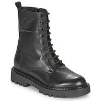 Schuhe Damen Boots Tosca Blu SF2028S547-C99 Schwarz