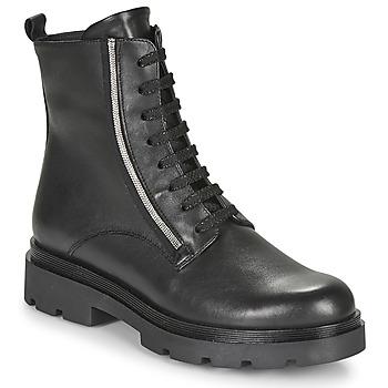 Schuhe Damen Boots Tosca Blu SF2024S470-C99 Schwarz