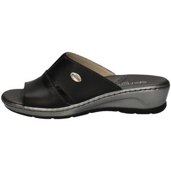 Schuhe Damen Pantoffel Florance 22505 BLACK