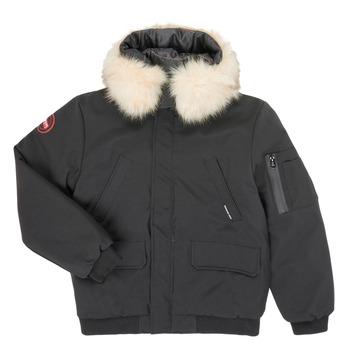Kleidung Jungen Jacken Redskins MIAMI Schwarz