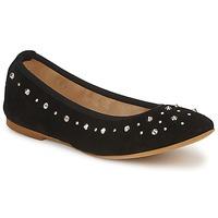 Schuhe Damen Ballerinas Meline LUSON Schwarz
