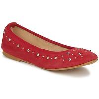 Schuhe Damen Ballerinas Meline LUSON Rot