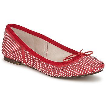 Schuhe Damen Ballerinas Meline BALDE ROCK Rot