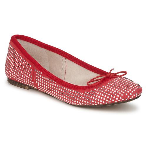Meline BALDE ROCK Rot  Schuhe Ballerinas Damen 64,96