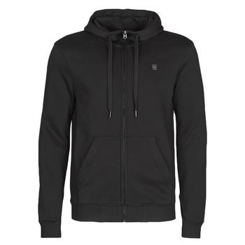 Kleidung Herren Sweatshirts G-Star Raw PREMIUM CORE HDD ZIP SW LS Schwarz