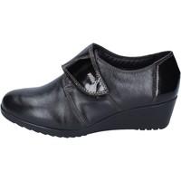 Schuhe Damen Slipper Adriana Del Nista sneakers leder schwarz