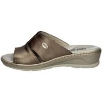 Schuhe Damen Pantoffel Florance 22505 TORTORA