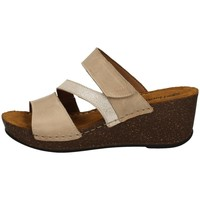Schuhe Damen Pantoffel Florance 22234-2 TORTORA