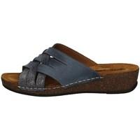 Schuhe Damen Pantoffel Florance 22134-2 BLUE