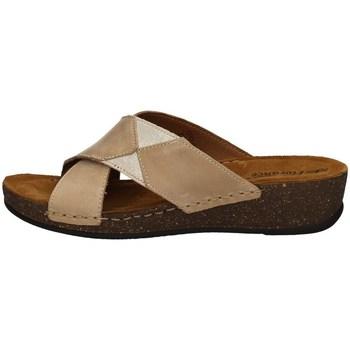 Schuhe Damen Pantoffel Florance 22132-2 TORTORA