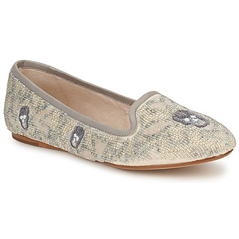 Schuhe Damen Slipper House of Harlow 1960 ZENITH Beige / Grau