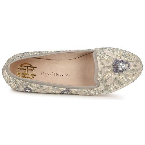 House of Harlow 1960 ZENITH Beige / Grau  Schuhe Slipper Damen 132,50