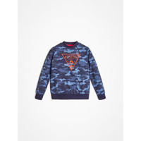 Kleidung Jungen Sweatshirts Guess L0YQ01-K82T0-PC74 Blau