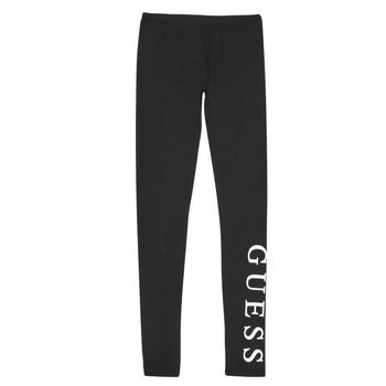 Kleidung Mädchen Leggings Guess J94B16-K82K0-JBLK Schwarz