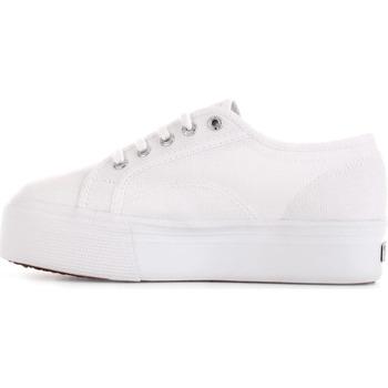 Schuhe Damen Sneaker Low Superga S11181W Weiß / Multicolor