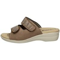 Schuhe Damen Pantoffel Tiglio 2338 BEIGE