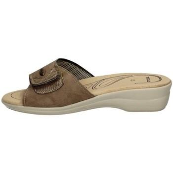 Schuhe Damen Pantoffel Tiglio 184 BEIGE