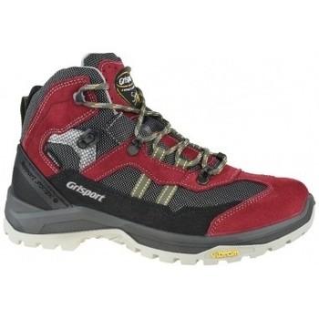 Schuhe Damen Multisportschuhe Grisport Scamosciato Rot