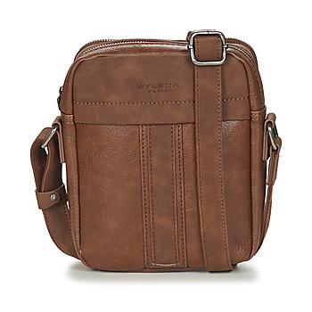 Taschen Herren Geldtasche / Handtasche Wylson ALBURY Braun