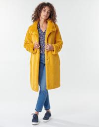 Kleidung Damen Mäntel S.Oliver 05-009-52 Gelb
