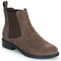 Schuhe Damen Boots Spot on F50979 Braun