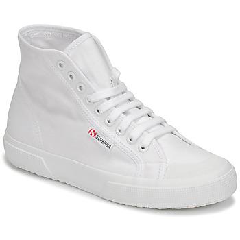 Schuhe Damen Sneaker High Superga 2295 COTW Weiss