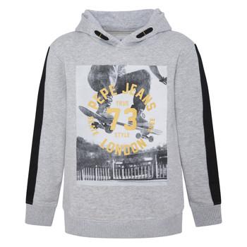 Kleidung Jungen Sweatshirts Pepe jeans GEOFF Grau
