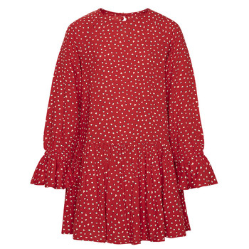 Kleidung Mädchen Kurze Kleider Pepe jeans CATY Rot