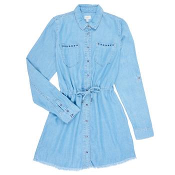 Kleidung Mädchen Kurze Kleider Pepe jeans ZOEY Blau