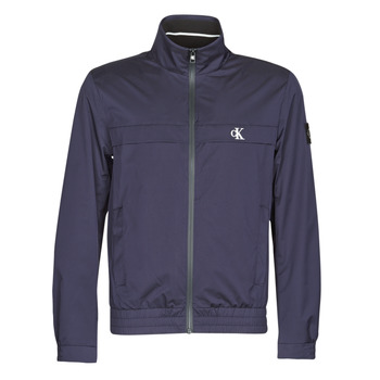 Kleidung Herren Jacken Calvin Klein Jeans ZIP UP HARRINGTON Marine