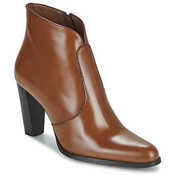 Schuhe Damen Low Boots Muratti ABRIL Cognac