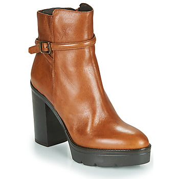 Schuhe Damen Low Boots Sweet Lemon FANNY Cognac