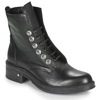 Schuhe Damen Boots Sweet Lemon Revelo Schwarz