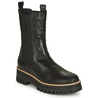 Schuhe Damen Boots Sweet Lemon Polira Schwarz