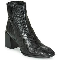 Schuhe Damen Low Boots Castaner IRIS Schwarz