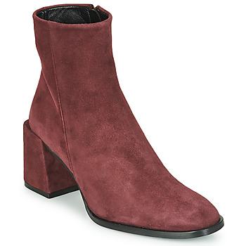 Schuhe Damen Low Boots Castaner IRIS Bordeaux