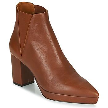 Schuhe Damen Low Boots Castaner OSCA Cognac
