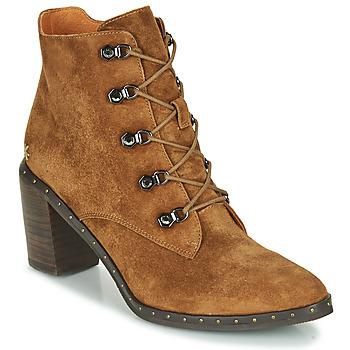 Schuhe Damen Low Boots Mam'Zelle NECLA Camel